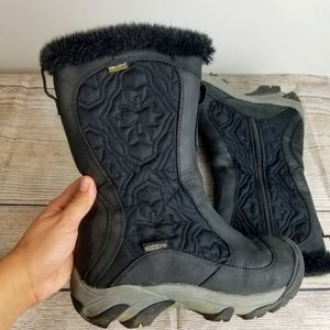 Keen snow winter black boots 6.5 keem warm meter